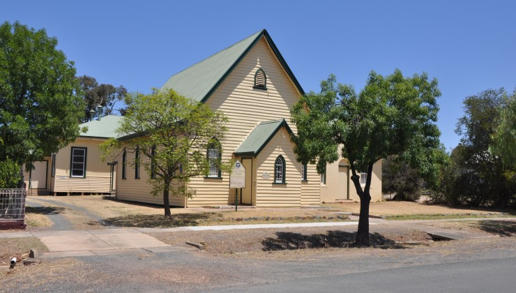 Rushworth Church Building