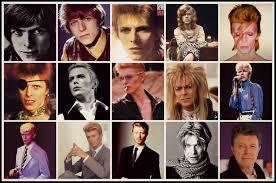 Bowie Faces