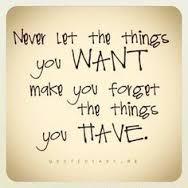 Gratitude Wants Needs